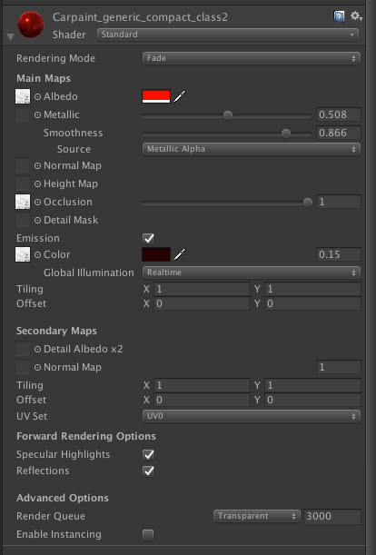 Standard Shader - Transparent/Fade Issue - Unity Answers
