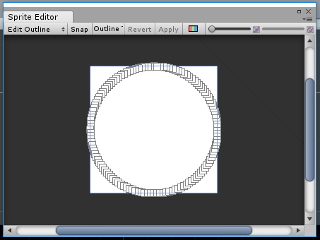 How to create outline circle sprite? - Unity Answers