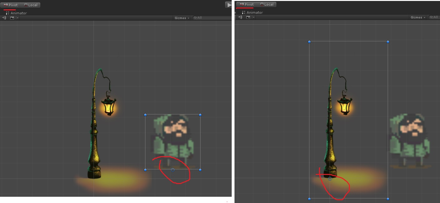 How To Change The Pivot Of A Gameobject Unity Answers
