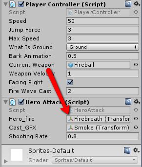 Unity Prefab reference change - Unity Answers