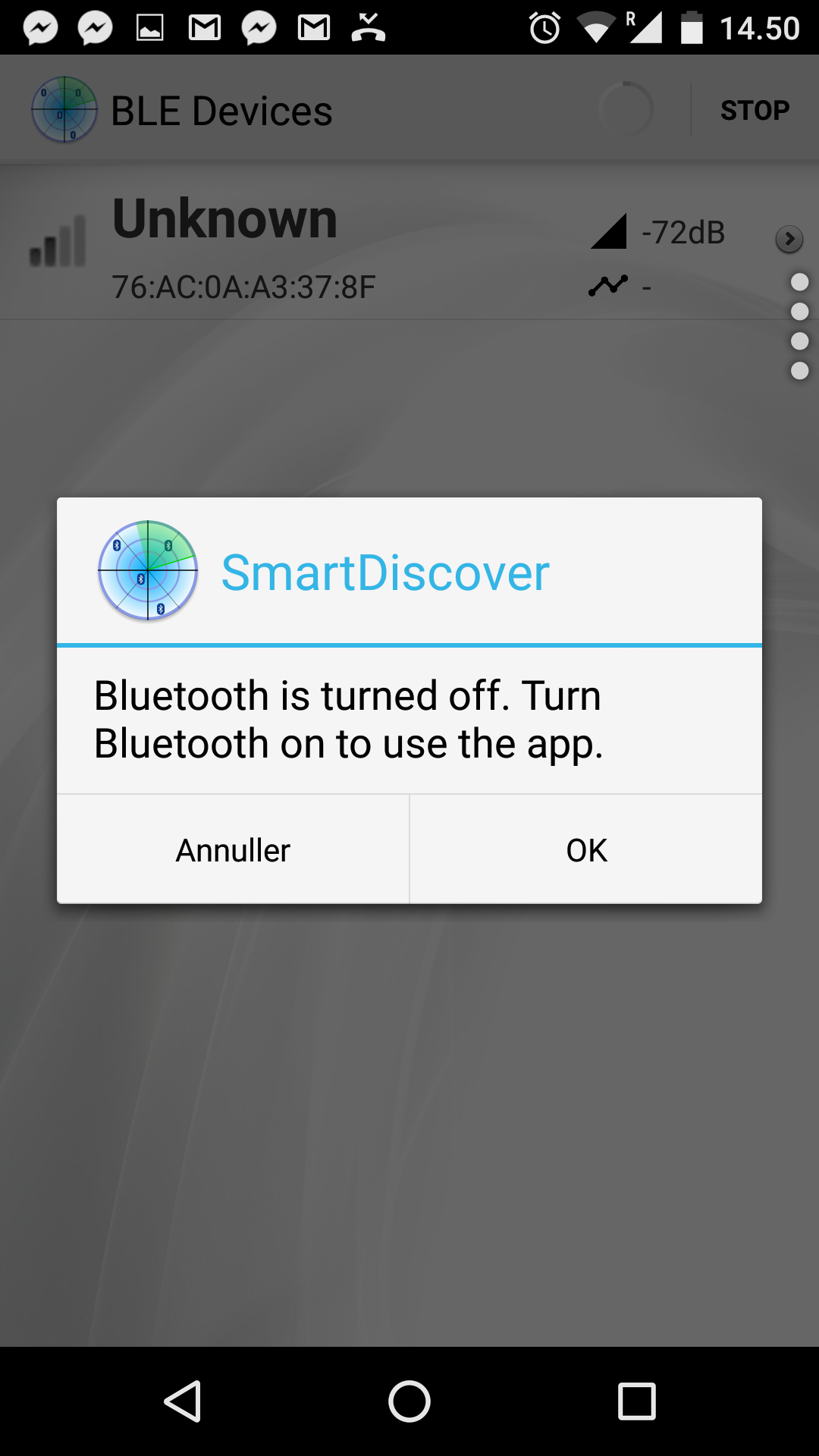 Android Open Bluetooth Settings Programmatically